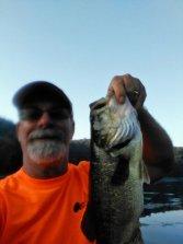 Bass on Noblett Lake Missouri