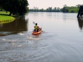 Kayaking the Calcasieu River in Louisiana
