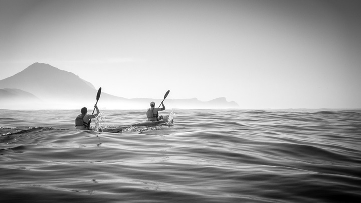 2 Ocean Kayakers