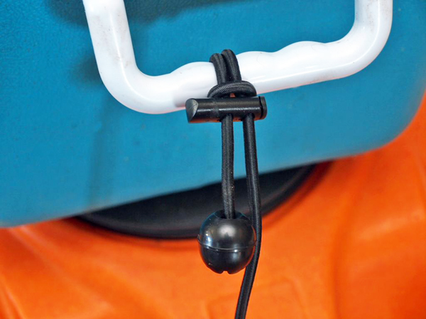 Adjustable Gear Leash Connected to Cooler Handle