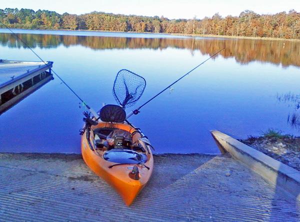 Early Morning Kayak Fishing