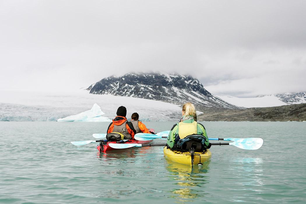Winter Kayaking