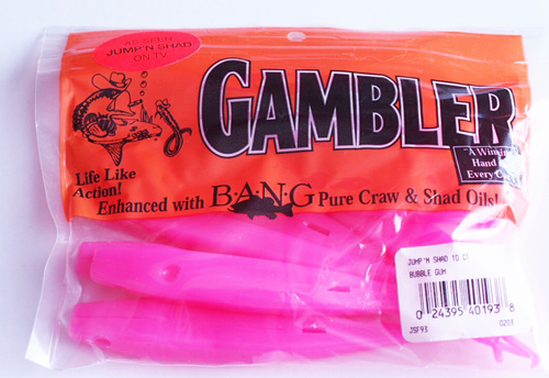 Gambler Shad in Pink