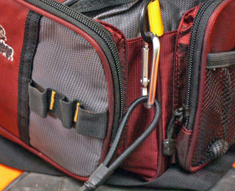 Gear Leash Attached to Tackle Bag