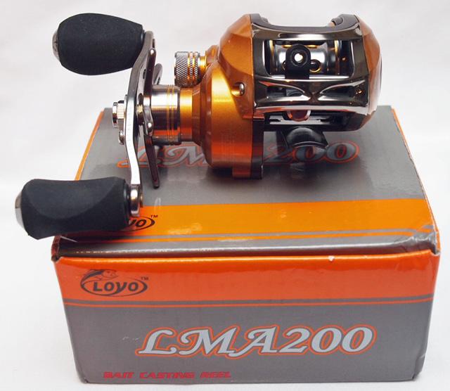 LMA200 11bb Baitcasting Reel