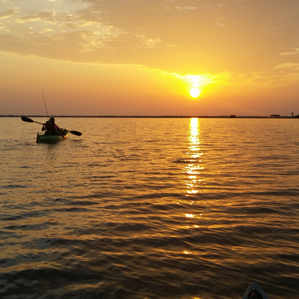 Early Morning Kayak Fishing Rockport Texas