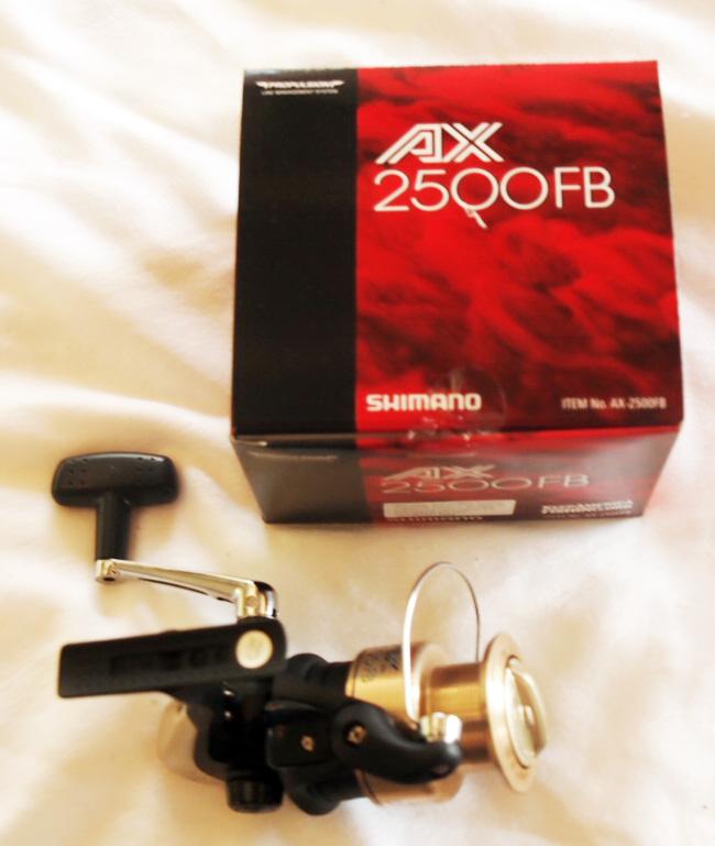 Shimano AX2500FB Spinning Reel