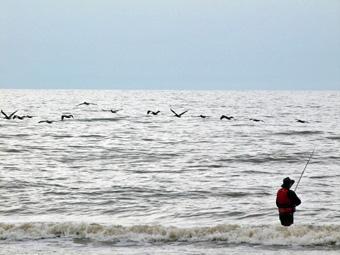 Surf Fishing - Texas Gulf Coast