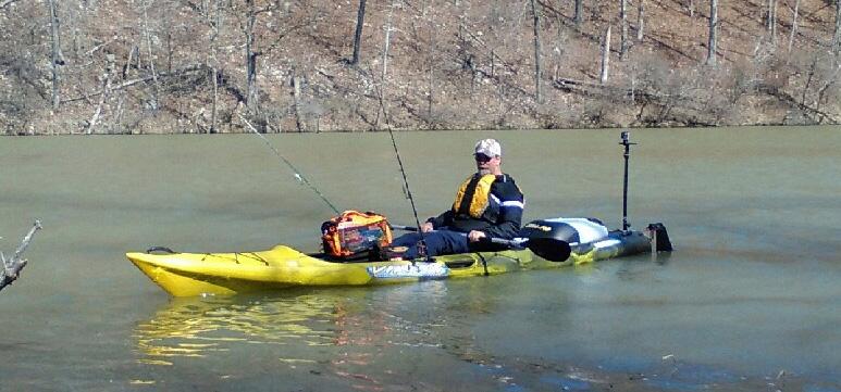 Fishing Noblett Lake in Missouri