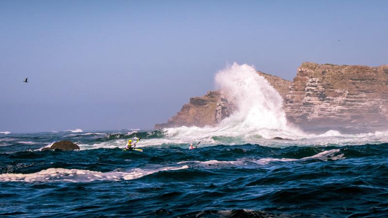 Kayaking Rough Waters