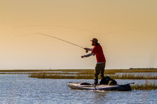 Matt Phillips Fly Fishing on the Texas Gulf Coast