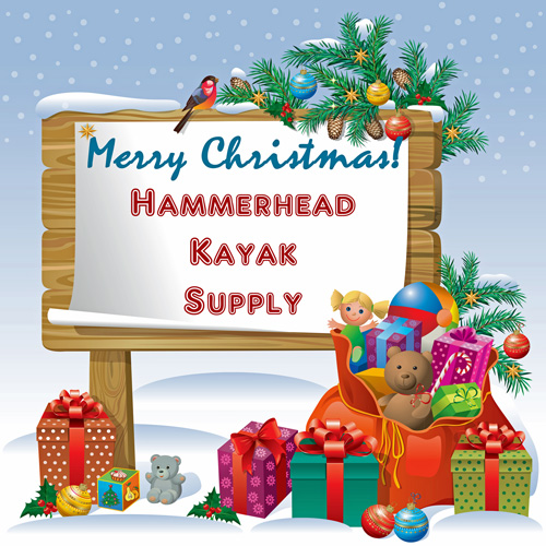Merry Christmas from Hammerhead Kayak Supply