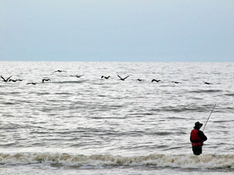 Surf Fishing - Texas Gulf Coast