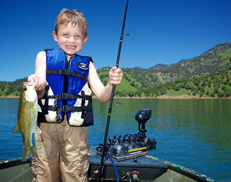 Our zebco prostaff 20 10 spincast fishing reel for Lake cachuma fishing report